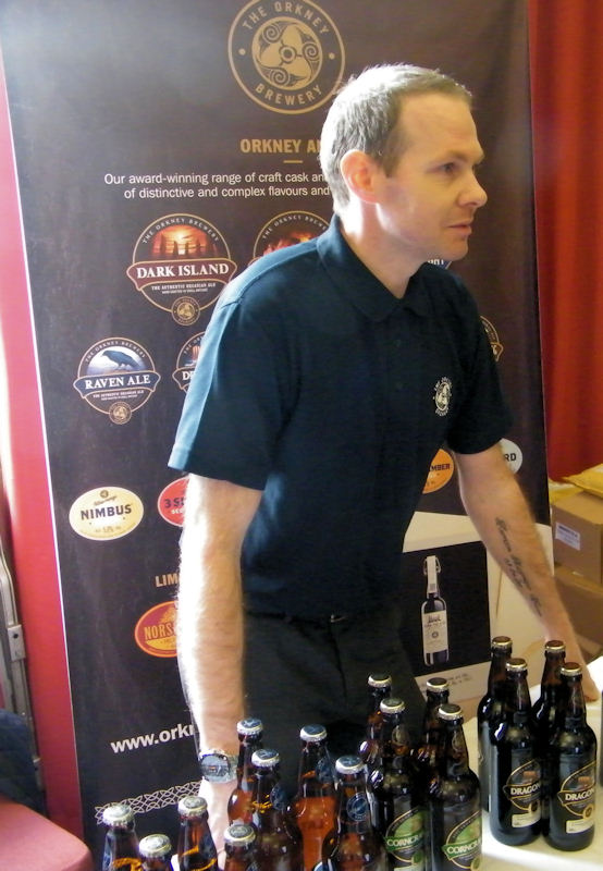 Photo: Sutherland Brothers Trade Show 2013 - Iain Fraser The Orkney Brewery