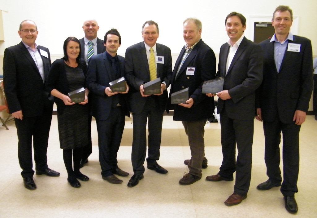 Photo: Sutherland Brothers Prize Winning Sales People