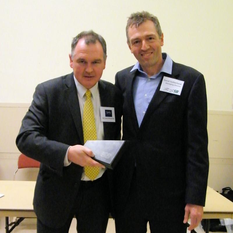 Photo: Sutherland Brothers Prize Winner - Grocery SHS Willie Higgins