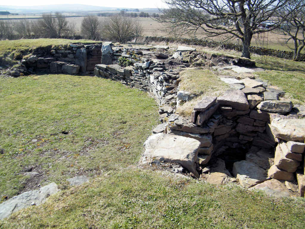 Photo: The Garden Broch At At Thrumster House