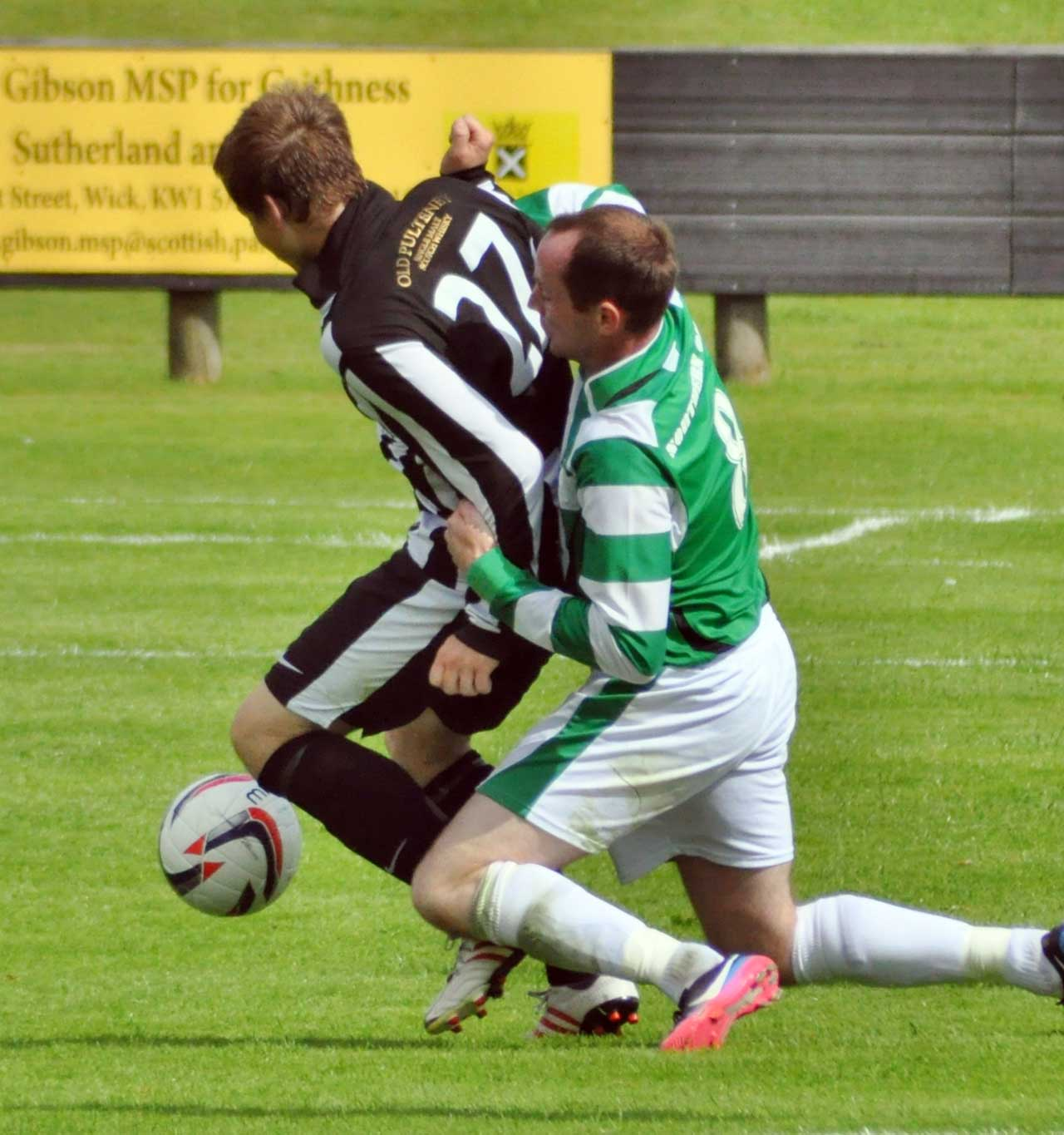 Photo: Wick Academy 2 Buckie Thistle 0