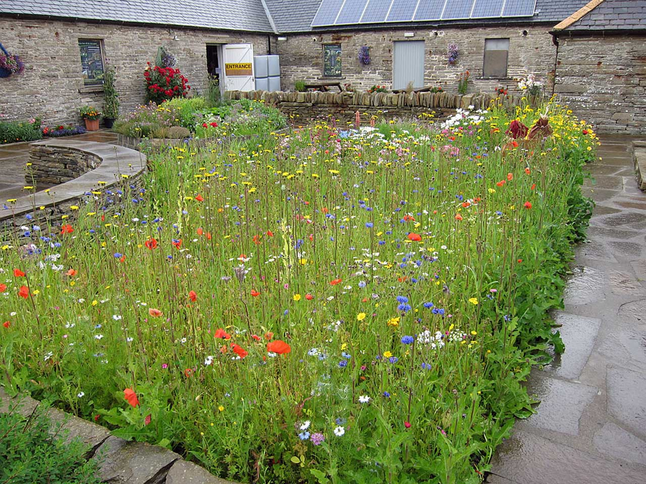 Photo: Castlehill Heritage Garden In Full Bloom