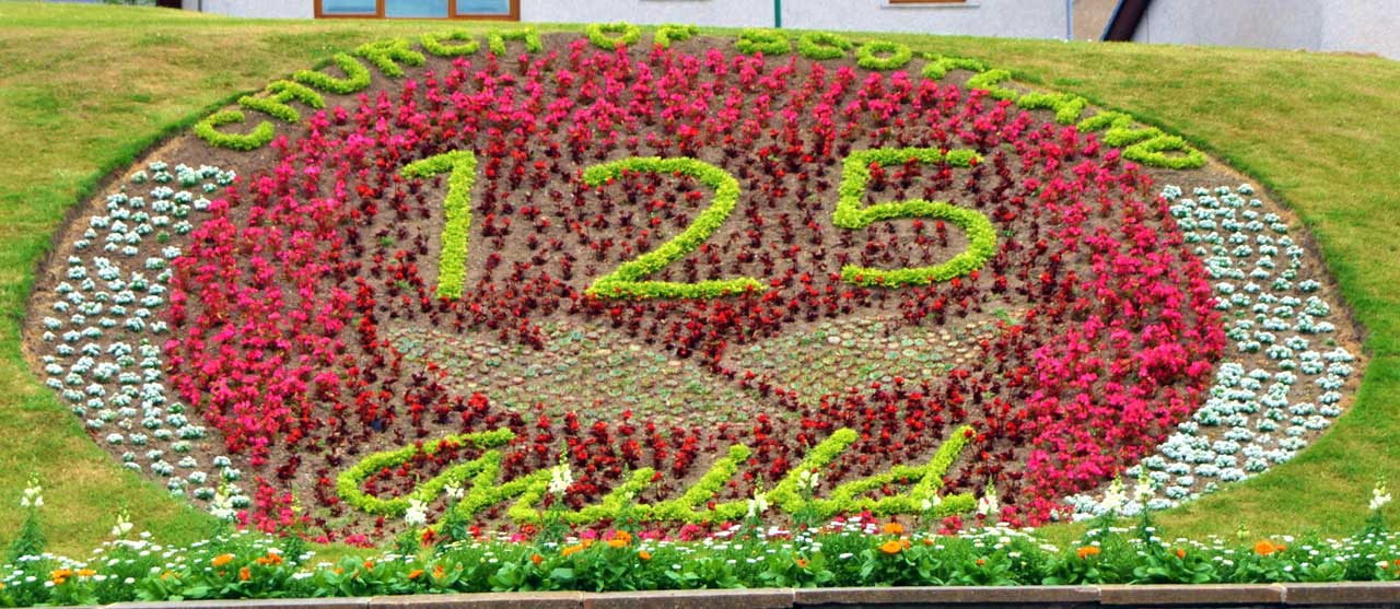 Photo: Floral Displays At Kirkhill, Wick - 125 Years Of The Guild