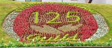 Kirkhill flowers celebrating 125 years of the Guild