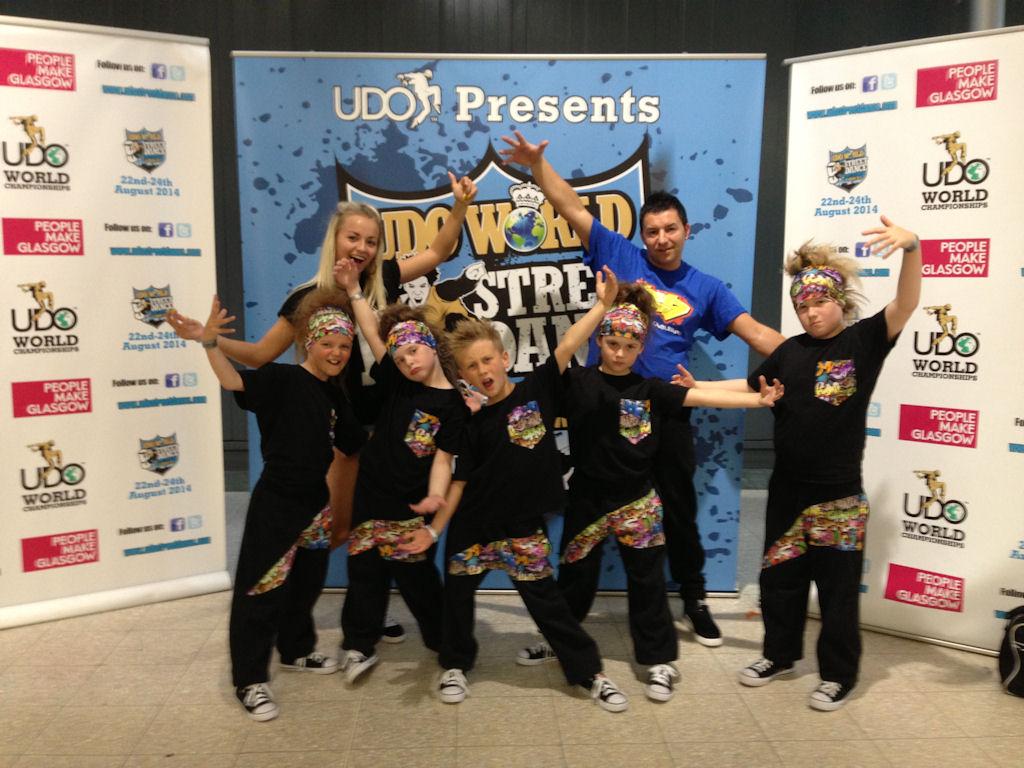 Photo: Rush.dance kids At UDO World Street dance Championships