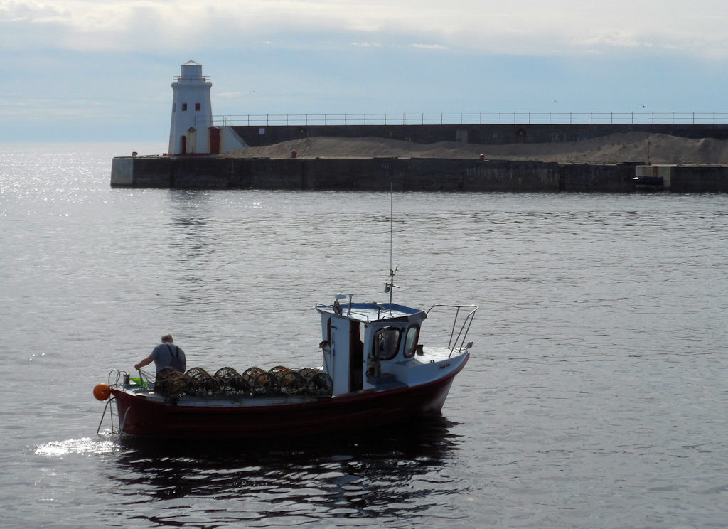 Photo: Looking Very Calm At Wick Harbour Compared to the Big Storm in December