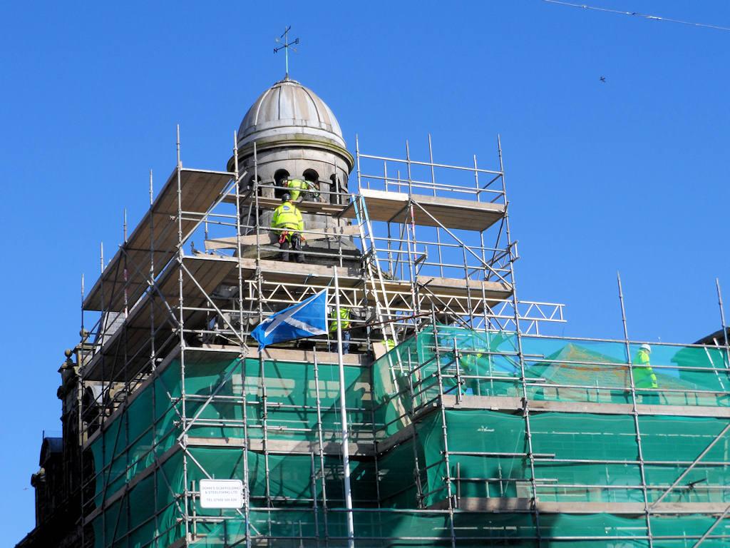Photo: Wick Town Hall - Major Improvement Works Underway