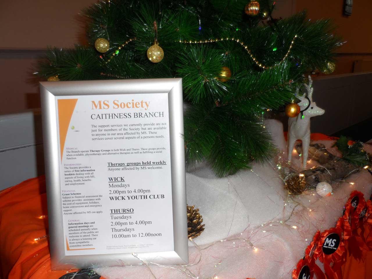 Photo: Christmas Tree Festival At Wick St Fergus Church