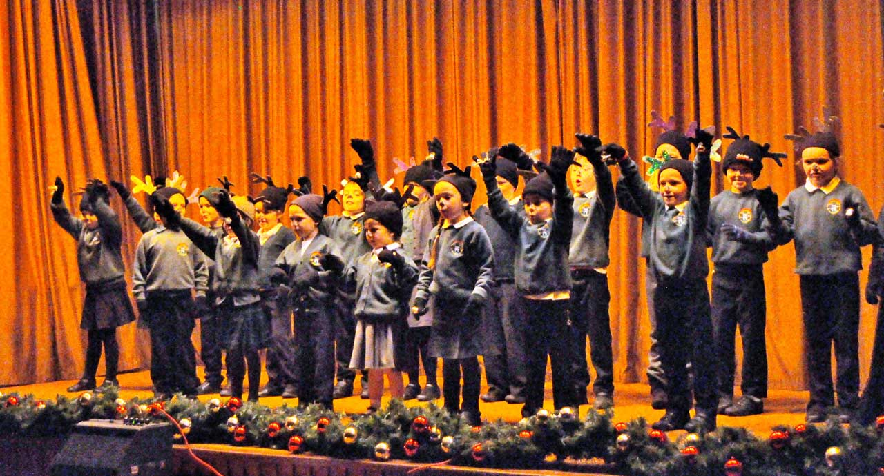 Photo: Keiss Primary School's Christmas Review
