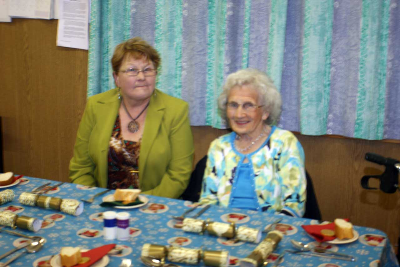 Photo: Senior Citizens Party Lybster