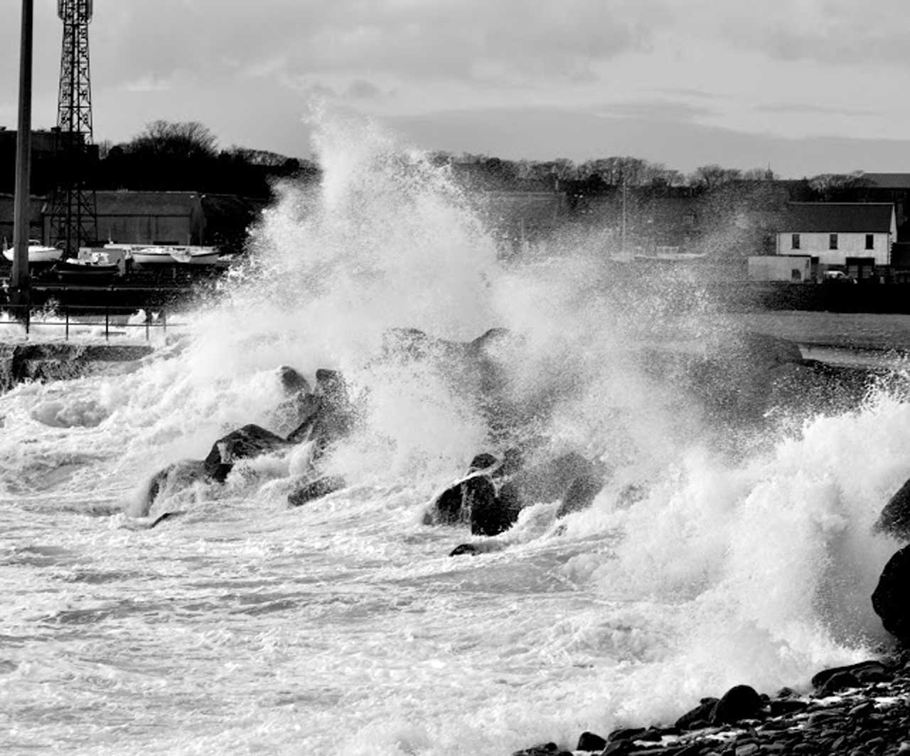Photo: Stormy Weather At Wick December 2013