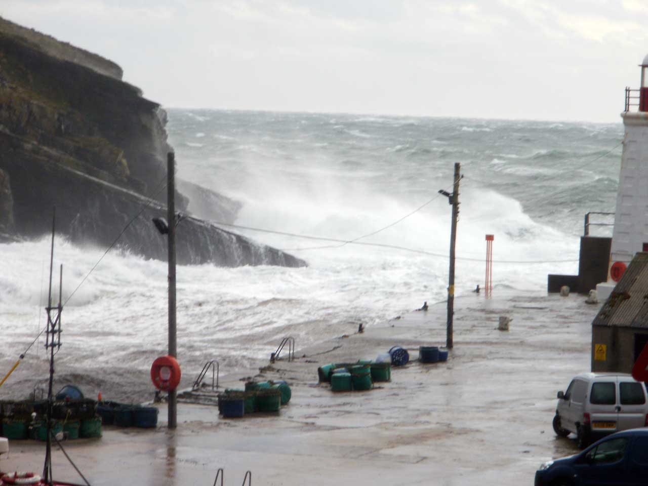 Photo: Stormy Weather At Wick Lybster 2013