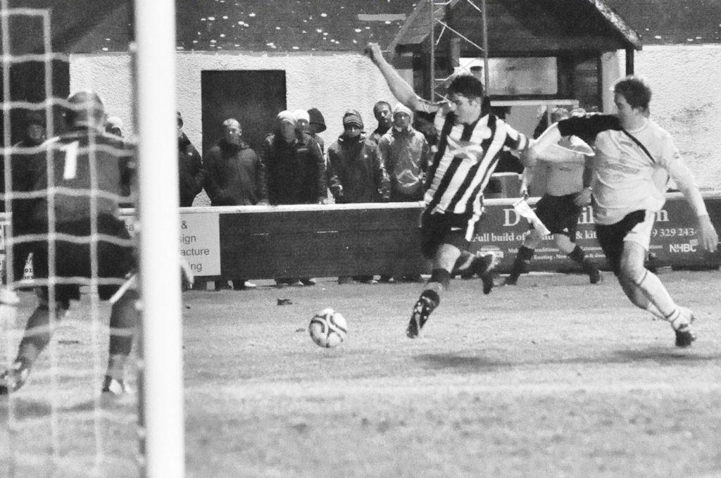 Photo: Academy Score 4 Goals To Win