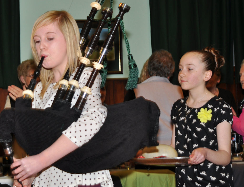 Photo: Wick Pipe Band Burns Supper
