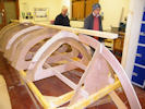 Wick Coastal Rowing Club - Boat Building Progress
