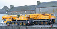 Cranes at Wick Harbour
