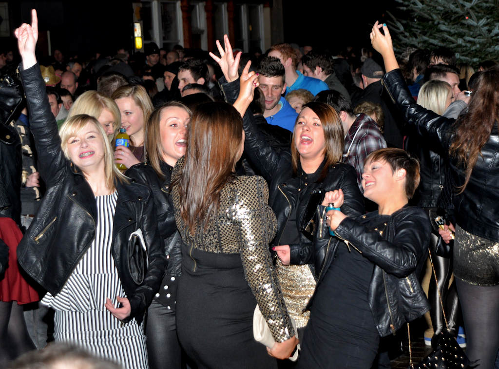 Photo: Wick Brings In 2013 At The Annual Street Party