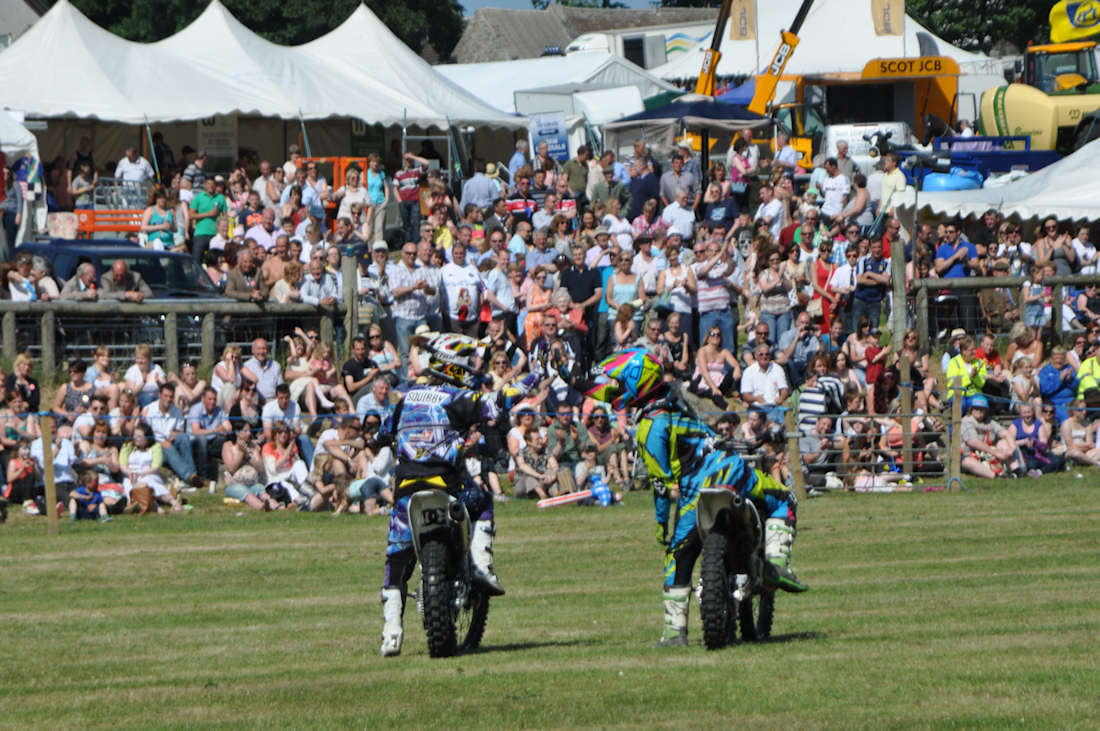 Photo: Caithness County Show 2013 - Stunt Motor Cyclists