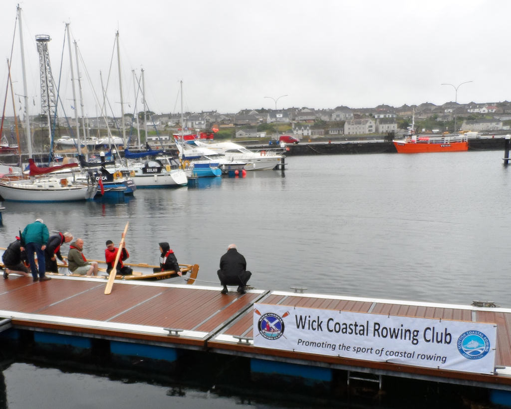 Photo: Spirit of Wick - Naming and Launch
