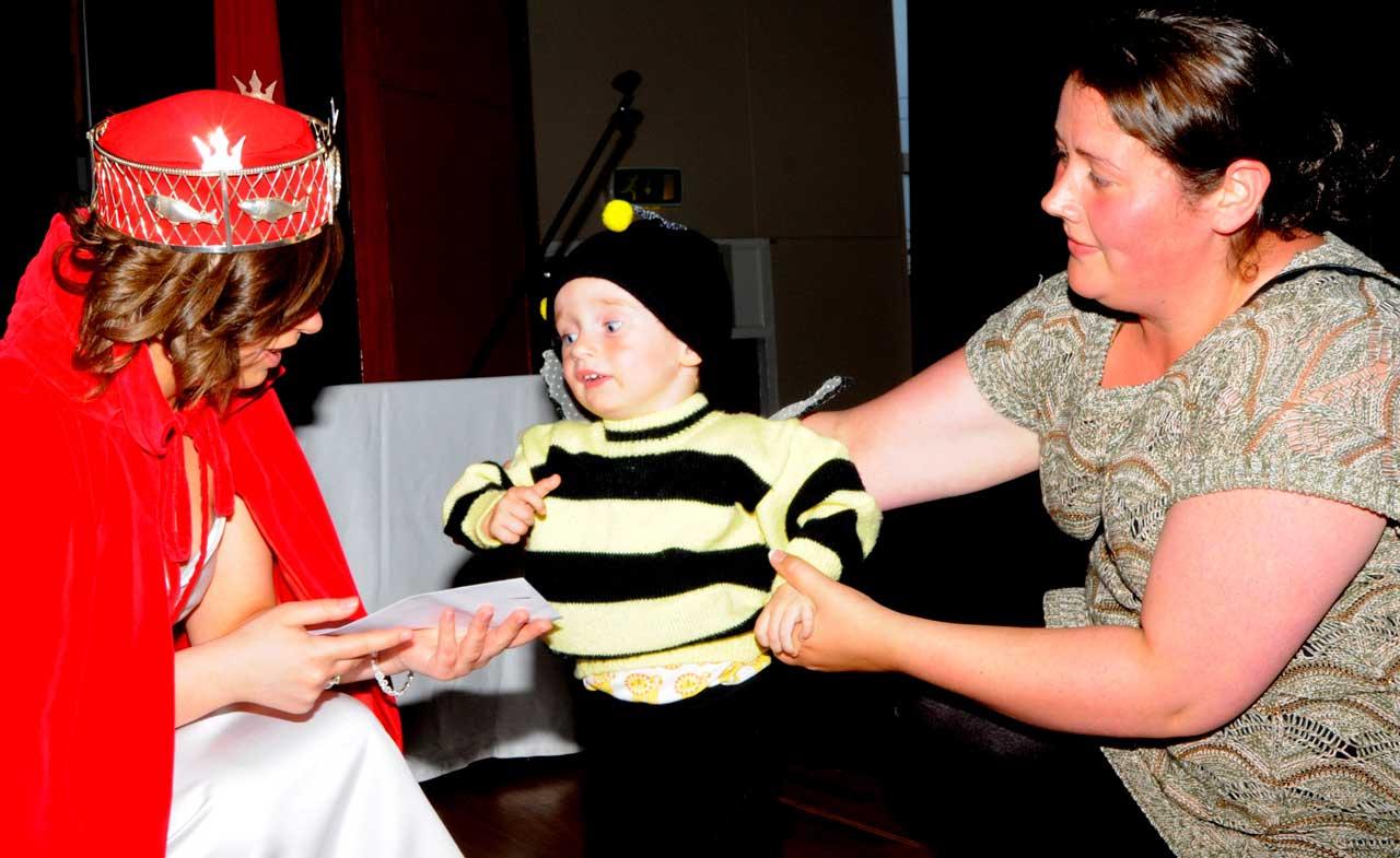 Photo: Prize Winner At Children's Fancy Dress At Wick Gala 2013