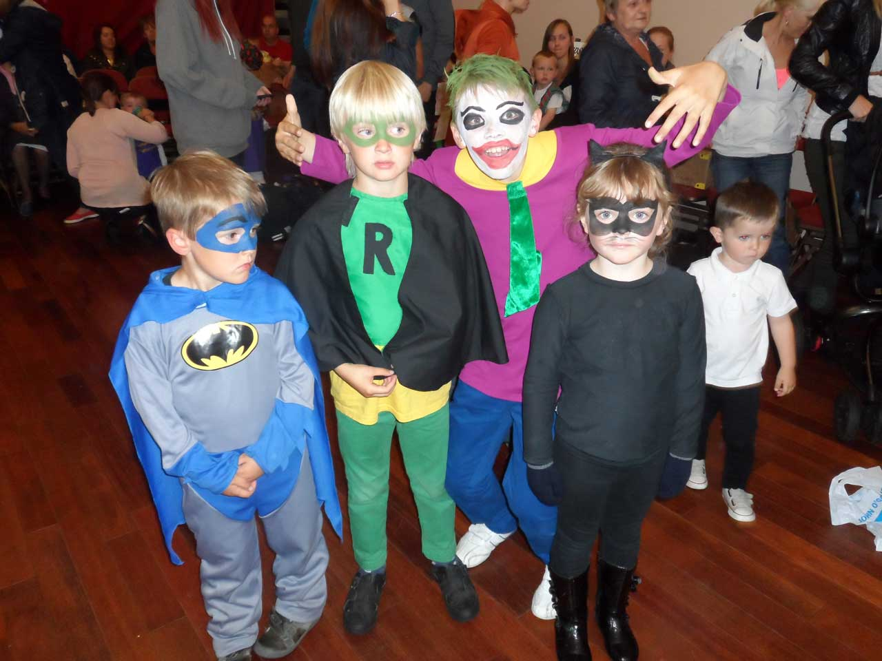 Photo: Children's Fancy Dress At Wick Gala 2013