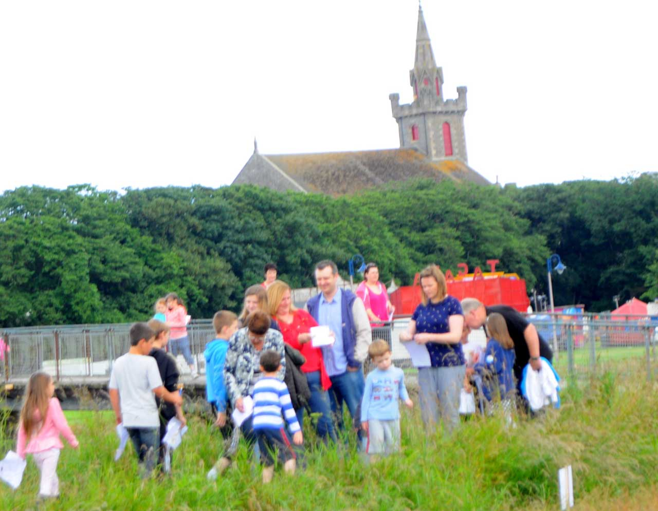 Photo: Walking Treasure Hunt At Wick Gala 2013