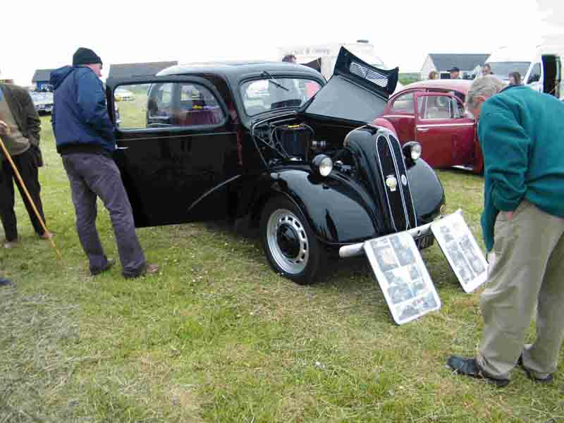Photo: Vintage Vehicle Rally 2013 At John O'Groats