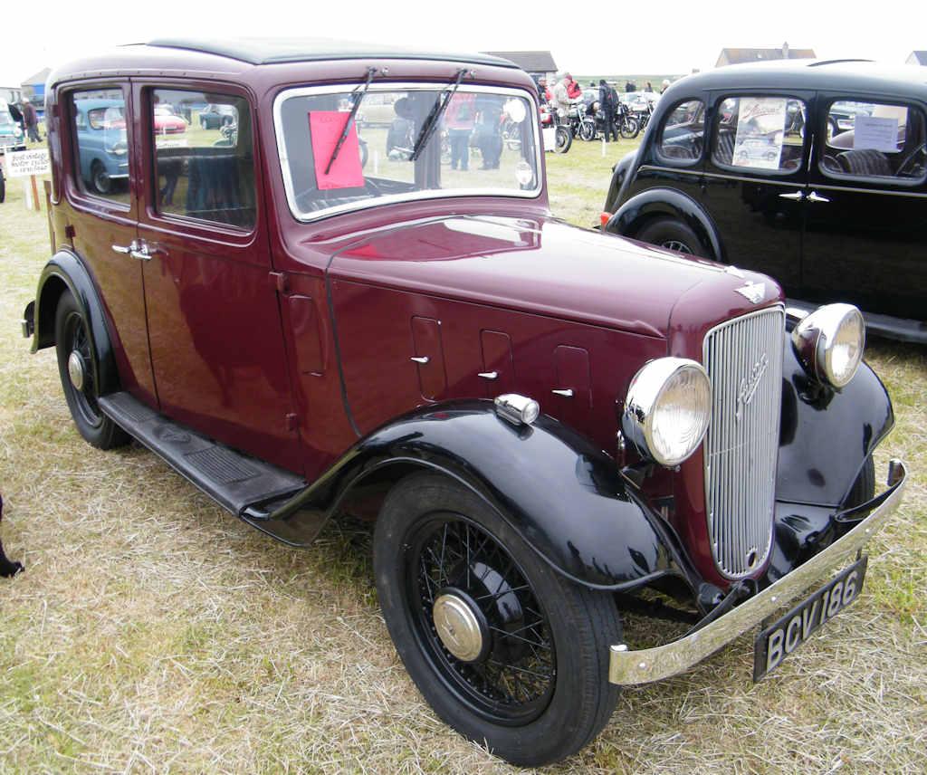 Photo: Austin 10 4 Lichfield 1935