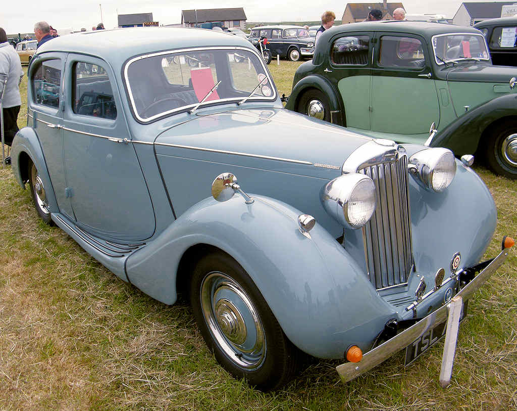 Photo: Sunbeam Talbot 10 1947
