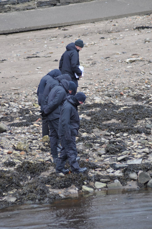 Photo: Police Search Wick River For Clues Day After body Recovered