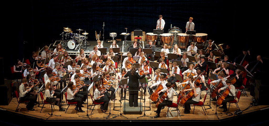 Photo: Highland Schools Orchestra At Eden Court