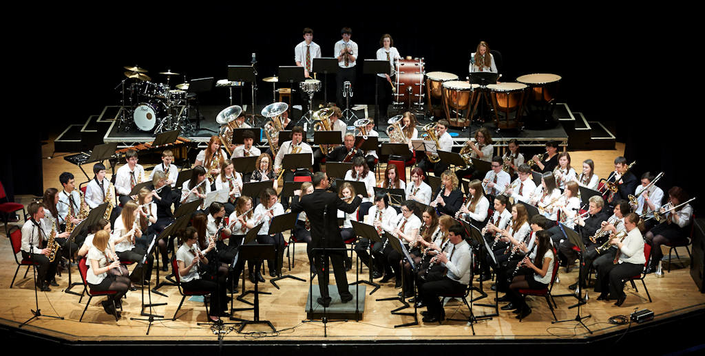 Photo: Highland Schools Wind Band At Eden Court