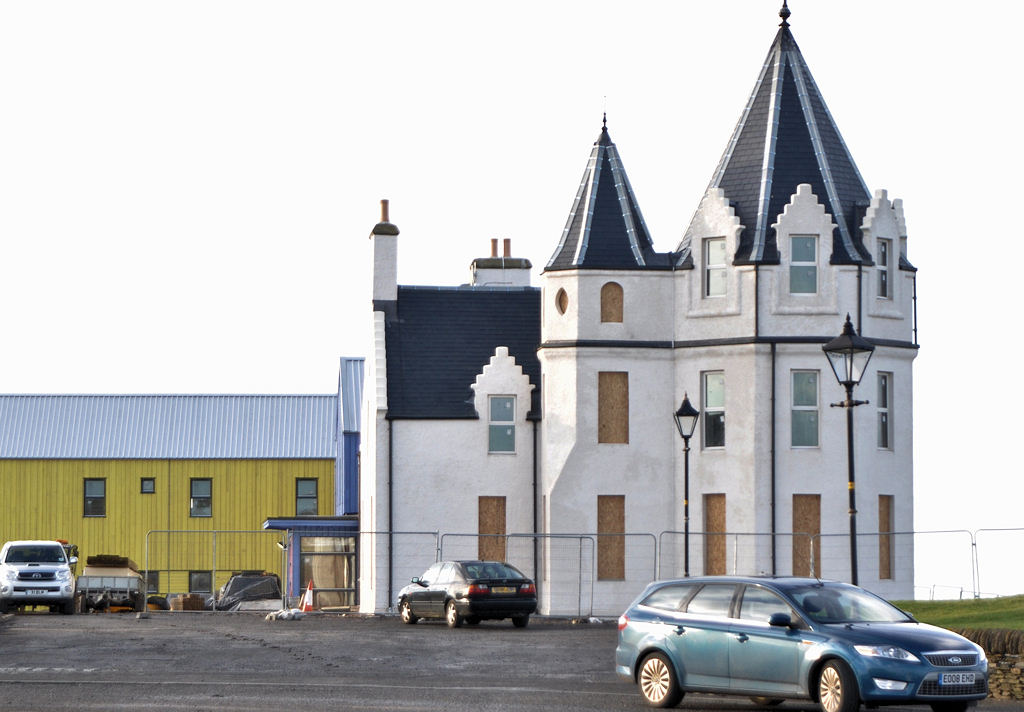 Photo: Former John O'Groats Hotel Looking Good