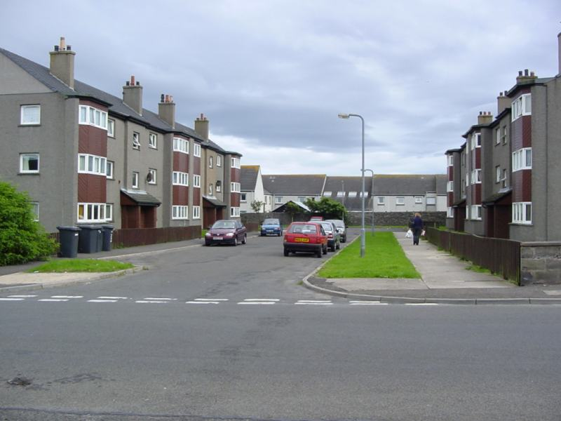 Photo: North Murchison Street Flats In august 2002