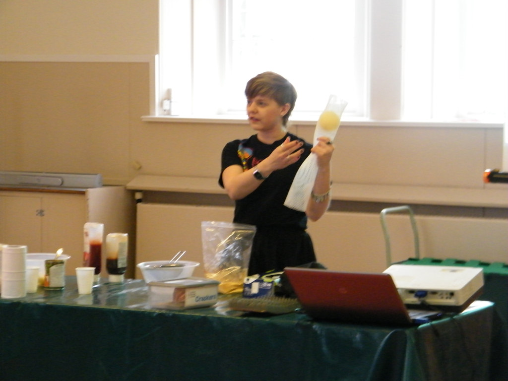 Photo: Demonstration Of The Digestion System