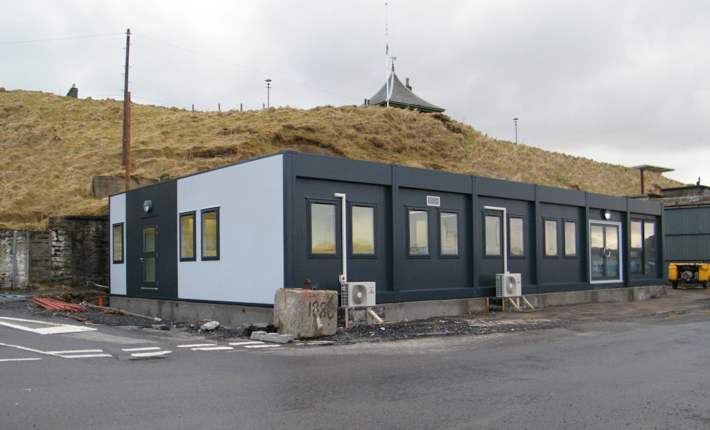 Photo: Hugh Simpson Contractors New Offices At Wick Harbour