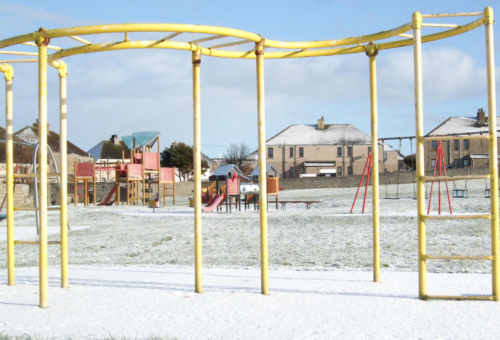 Photo: Light Snow Cover In Wick