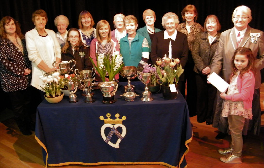 Photo: Trophy Winners At East Caithness SWRI Bulb Show 2013