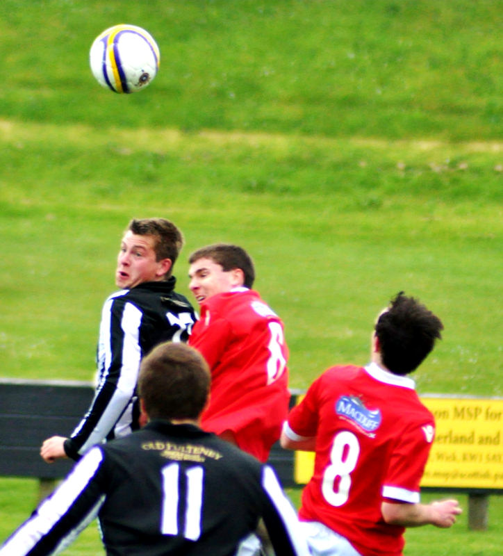 Photo: Wick Academy 4 Deveronvale 1