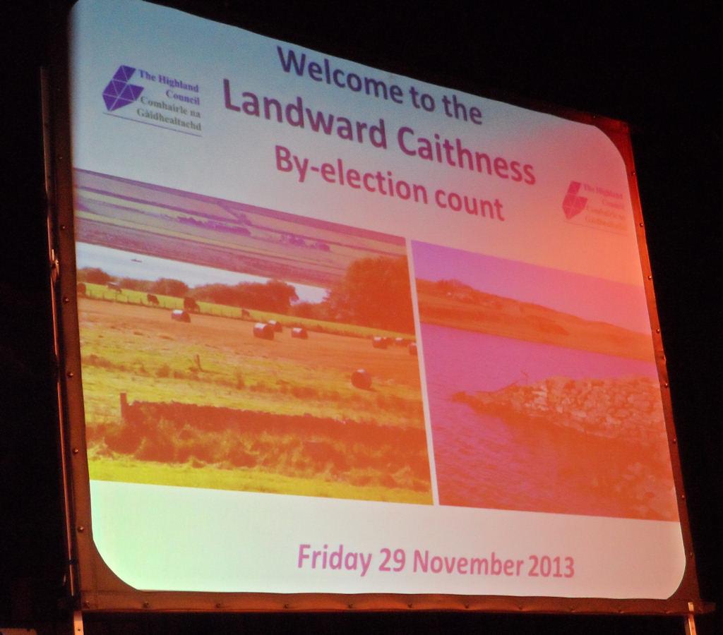 Photo: Matthew Reiss Independent Wins Landward Caithness Bi-election