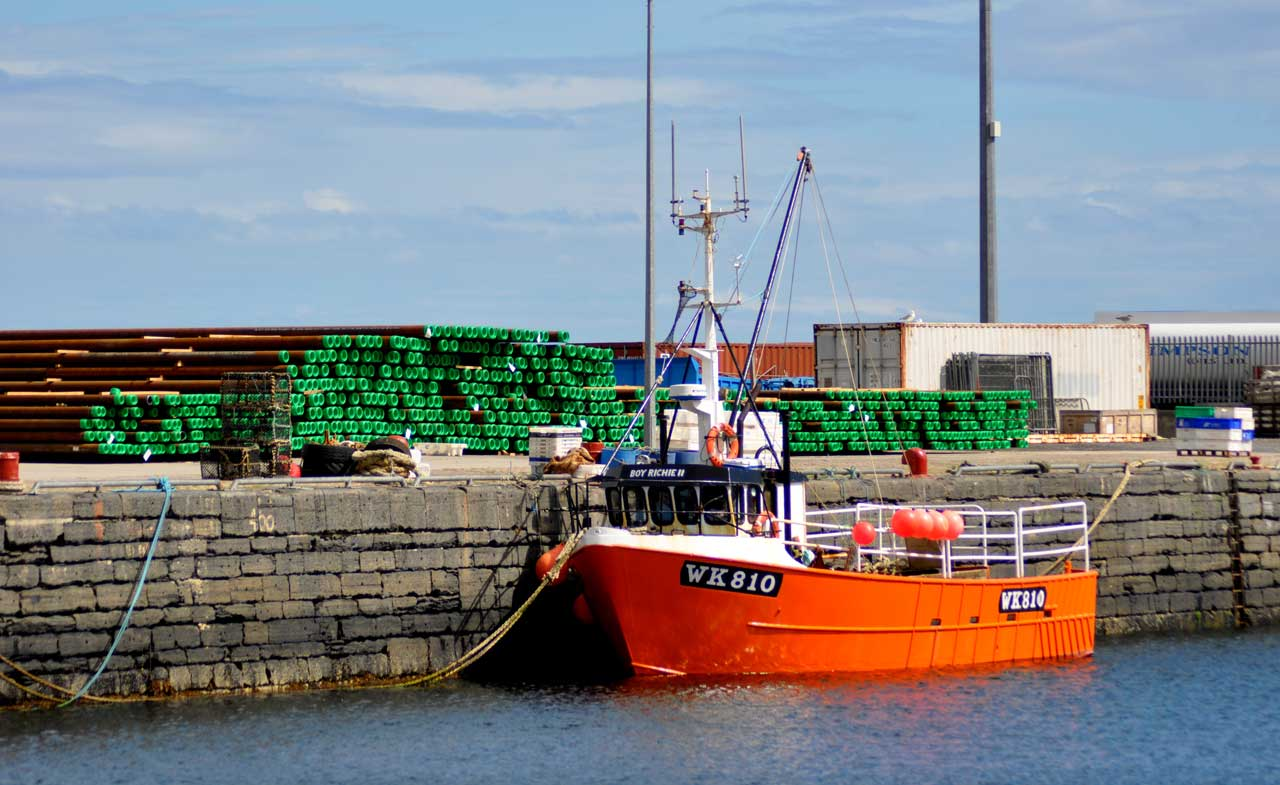 Photo: Balmy Days At Wick Harbour In August