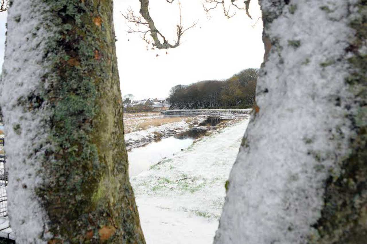 Photo: First Snow In Wick