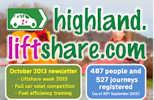 Highland Liftshare October Newsletter - Page 1
