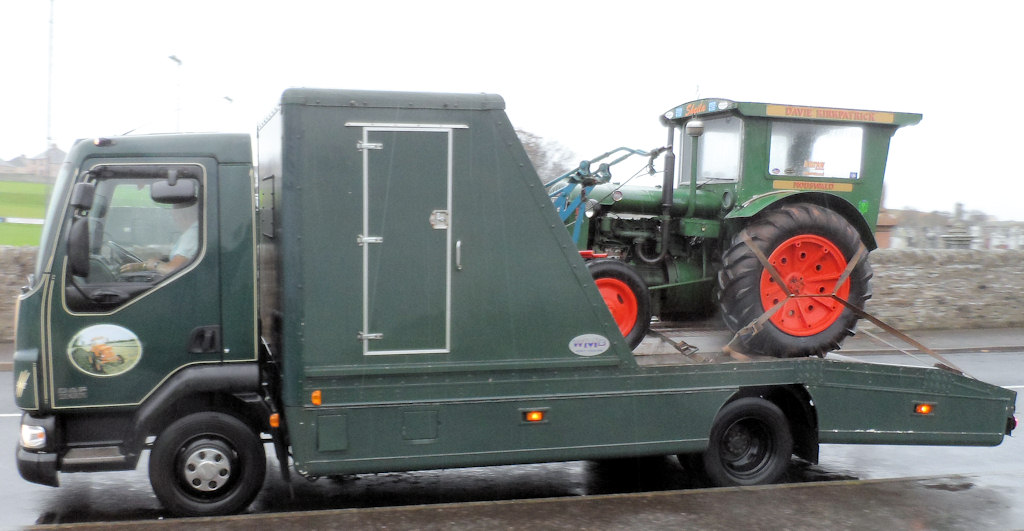 Photo: Ploughmen Arrive At Wick
