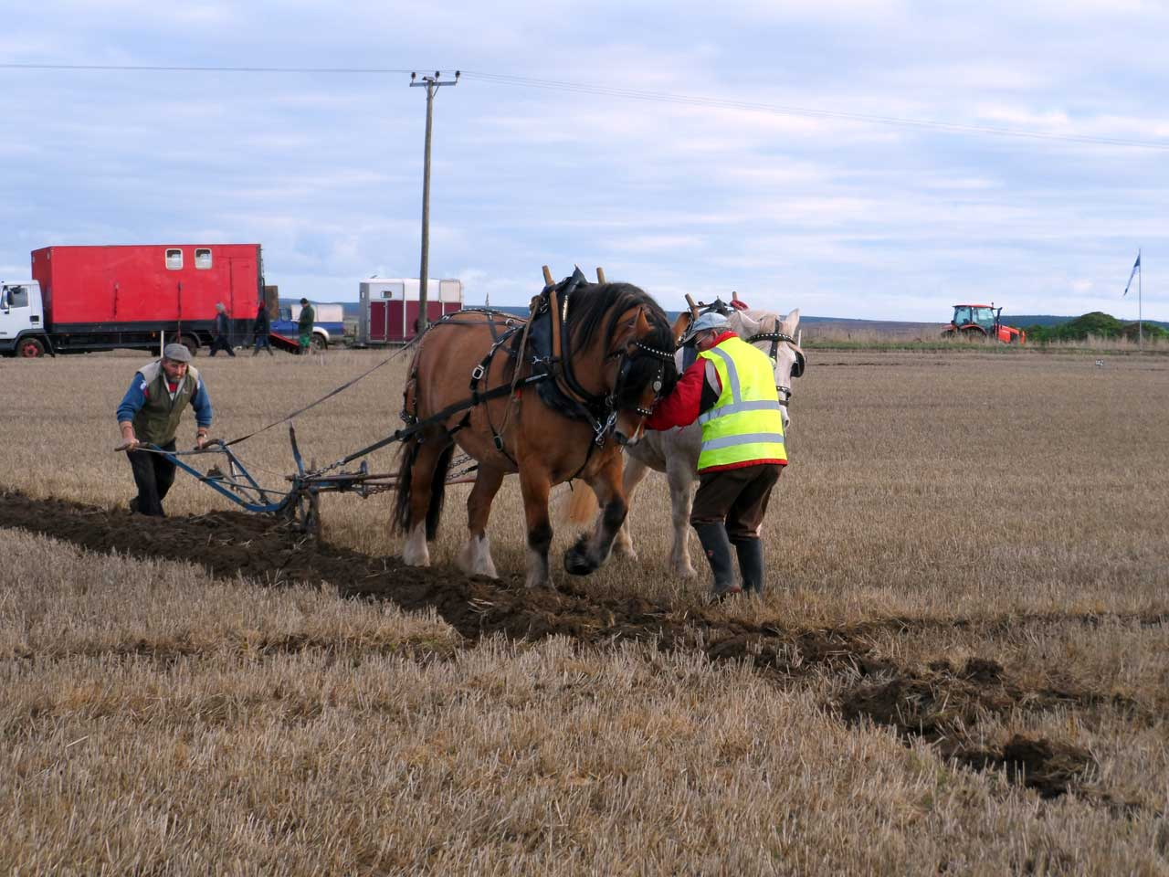 Photo: 51st Scottish Ploughing Championships 2013 - Stanstill Farm, Caithness