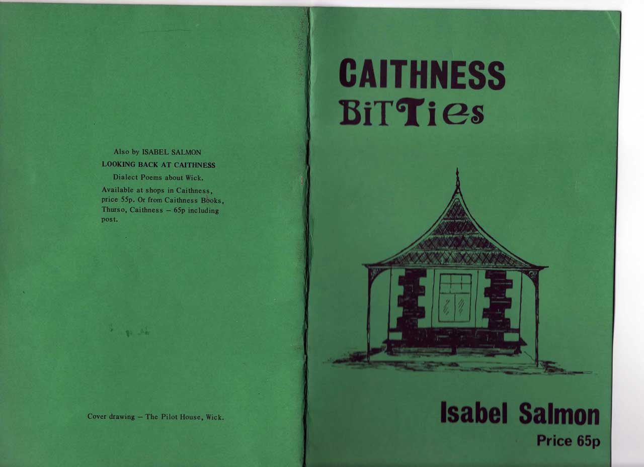 Photo: Caithness Bitties by Isabel Salmon - Front and Back Covers