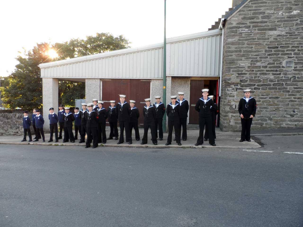 Photo: Sea Cadets Inspection At Kirkhill, Wick