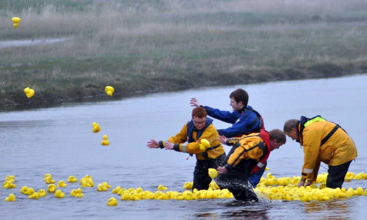 Photo: Duck Race Fundraiser For Lifeboats