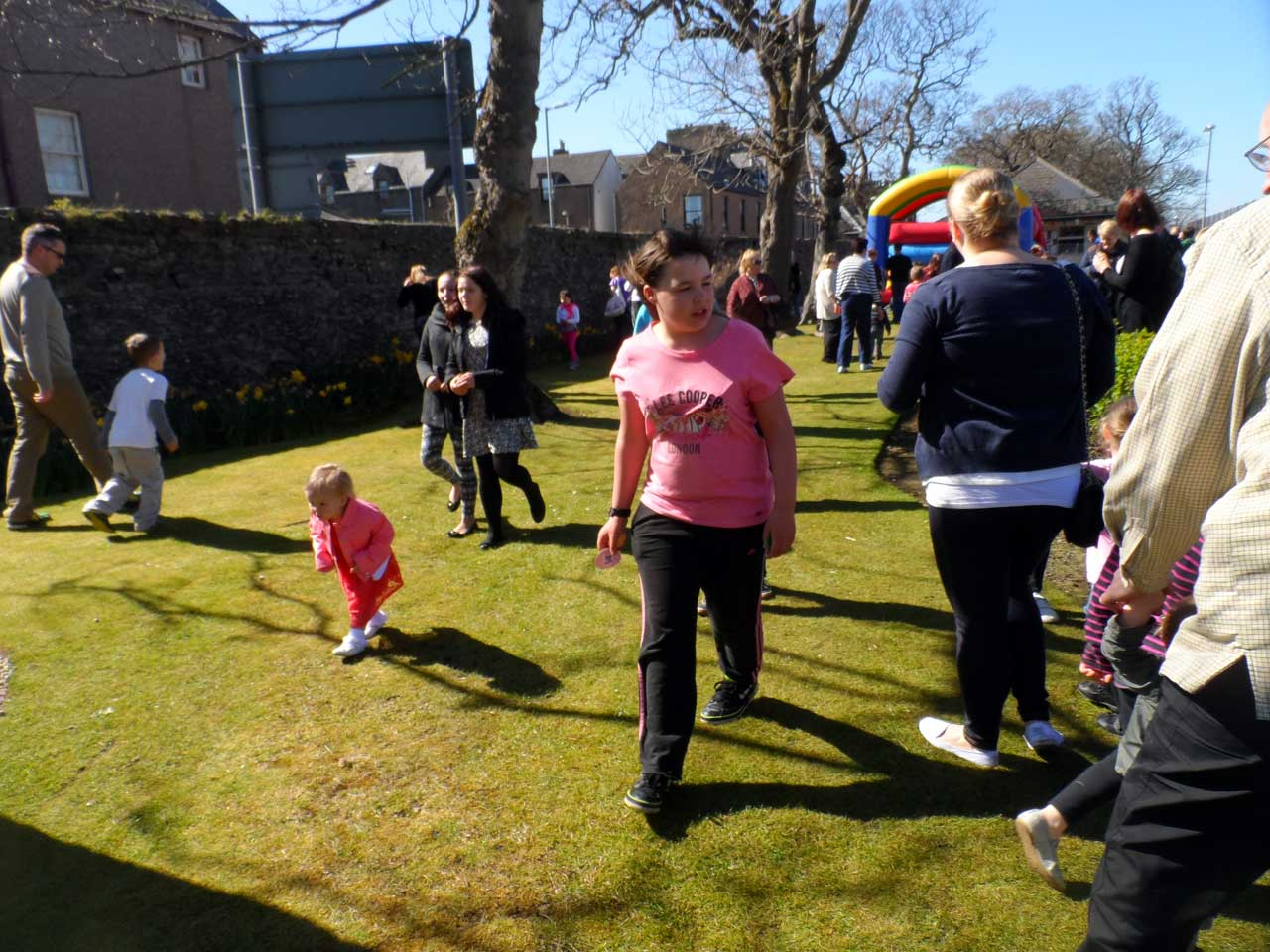 Photo: Easter Egg Hunt At Rosebank Park, Wick