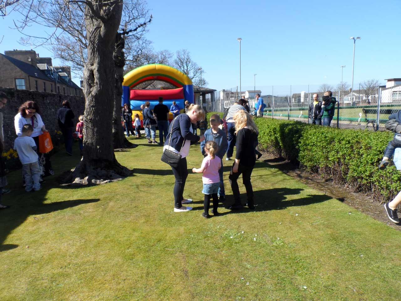Photo: Easter Egg Hunt At Rosebank Park, Wick